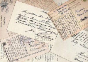 3135677-collage-of-old-handwritten-letters-and-postcards